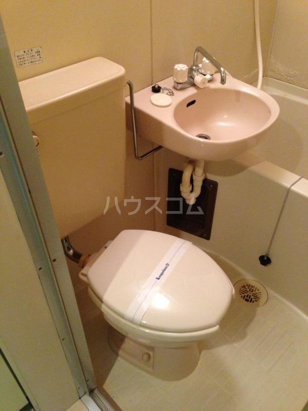 レオパレス大宮第1のトイレ