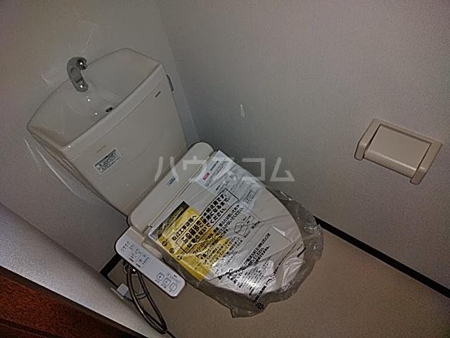 サニーフラット西大宮 101号室のトイレ