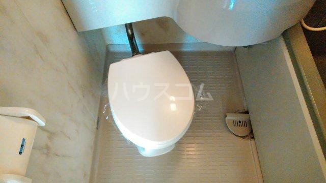 ウイステリア曽根 203号室のトイレ