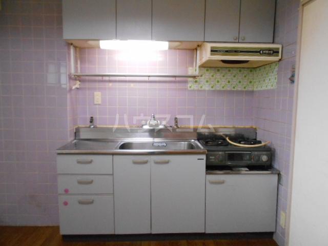 メゾンドール光和パートⅡ 105号室のキッチン