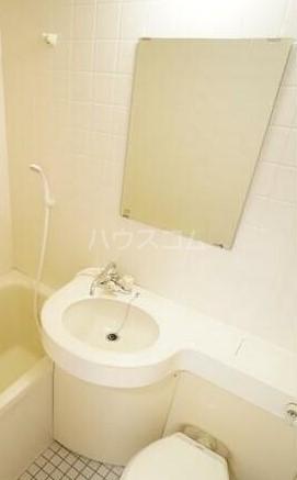 扶桑ハイツ池袋 205号室の洗面所