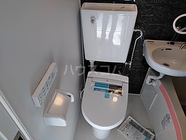 ユナイト桜ベルーガ 103号室のトイレ