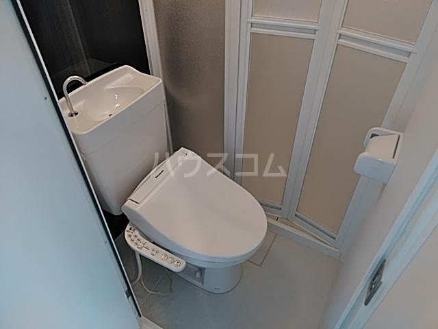 ユナイト桜本オブライエン 106号室のトイレ