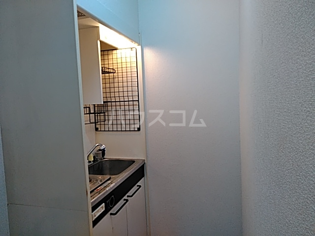フェーデしらとり台A 201号室のキッチン