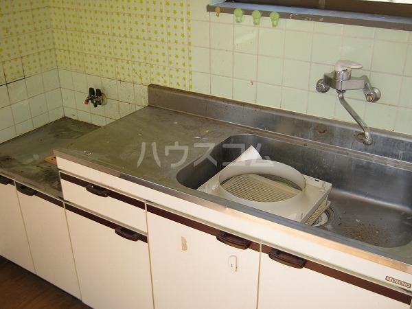 原田テラスハウスBのキッチン
