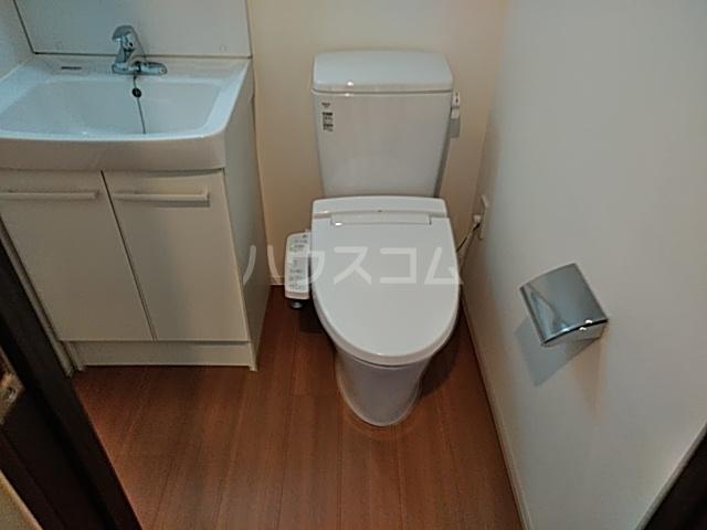 SS.Advance横濱末吉町 303号室のトイレ