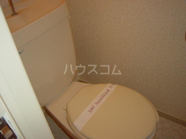 ニューハイツ雅 00201号室のトイレ