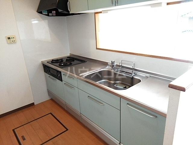 グランステージ緑地 202号室のキッチン