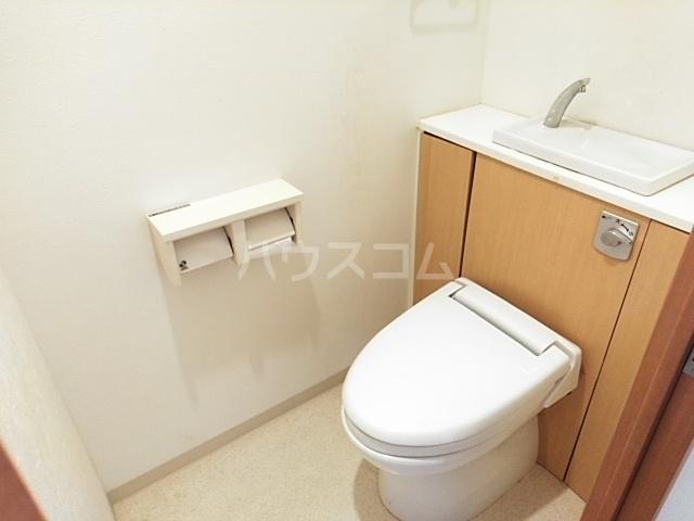 グランステージ緑地 202号室のトイレ