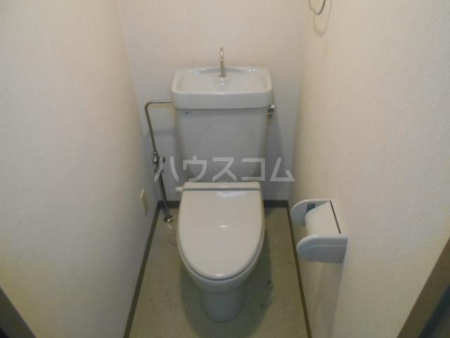 ドラル西院 407号室のトイレ
