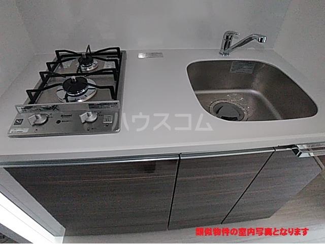 プレサンス名古屋幅下ファビュラス 402号室のキッチン