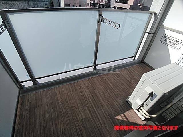 プレサンス名古屋幅下ファビュラス 602号室のバルコニー