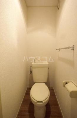 アベニールエイラク 202号室のトイレ