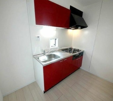 Geheime Basisのキッチン