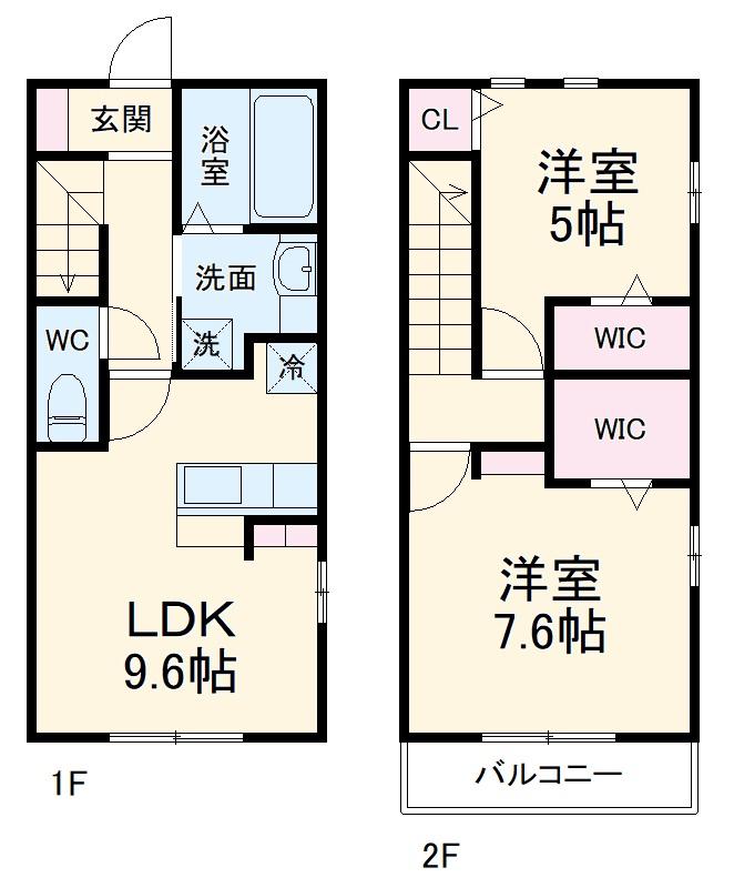 仮)D-room蟹江町今西・103号室の間取り