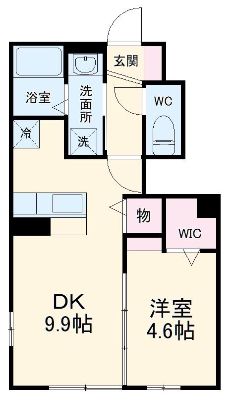 仮)D-room蟹江町今西・101号室の間取り