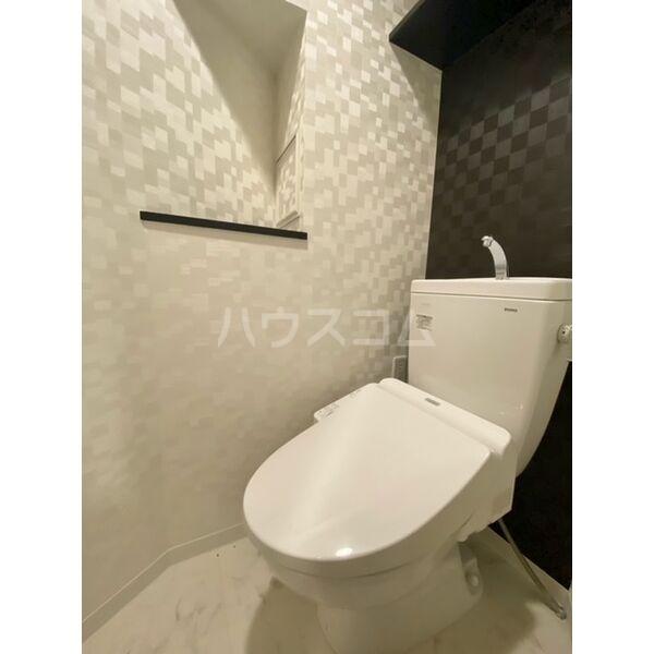 S-RESIDENCE名駅 602号室のトイレ