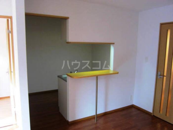 ベルホーム 102号室のキッチン
