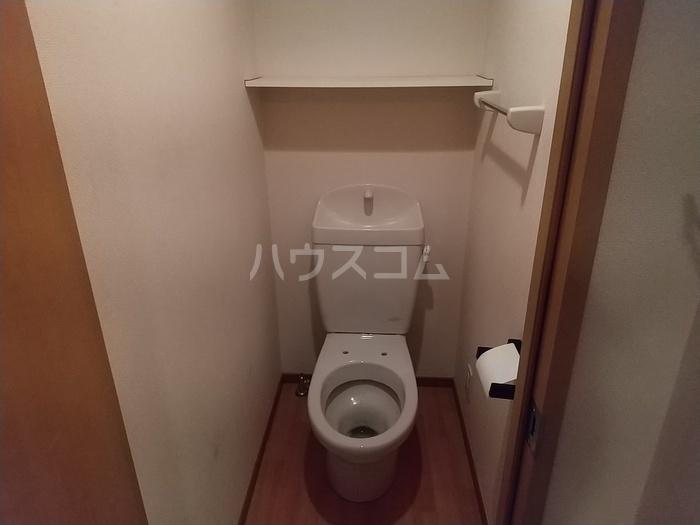 ベルホーム 102号室のトイレ