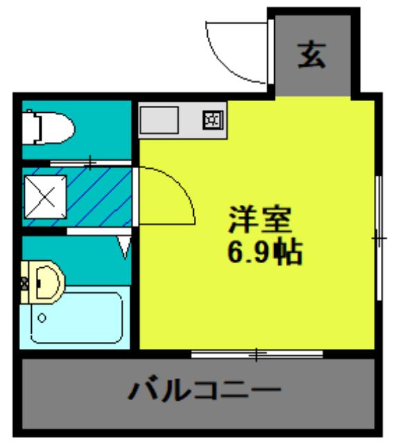 ランド・18 綾瀬2丁目・601号室の間取り