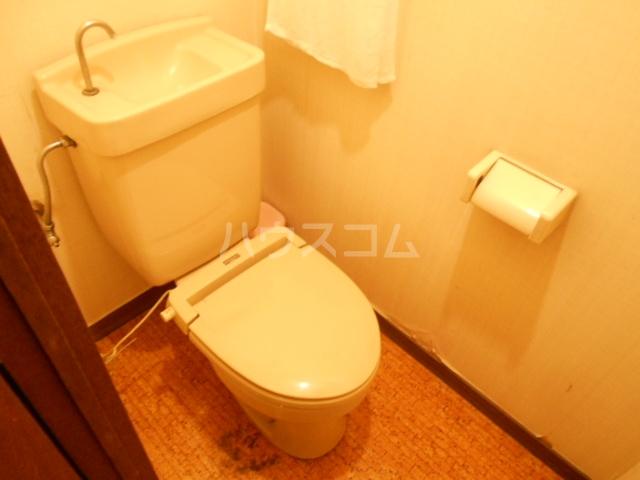 強羅ビラ 308号室のトイレ