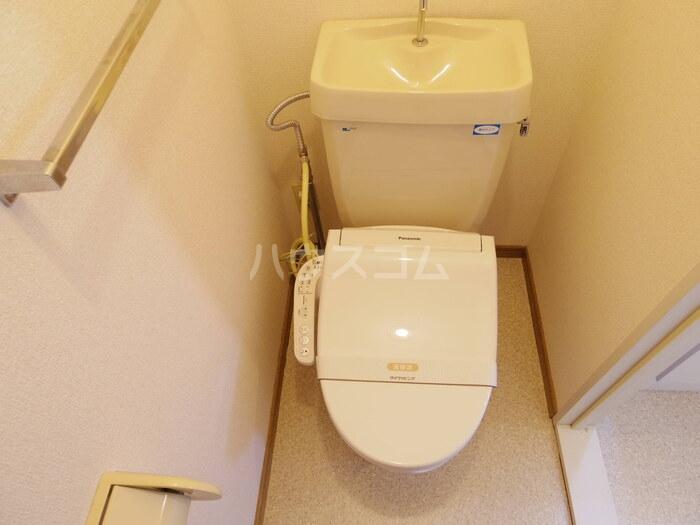 セジュール広瀬 B 202号室のトイレ