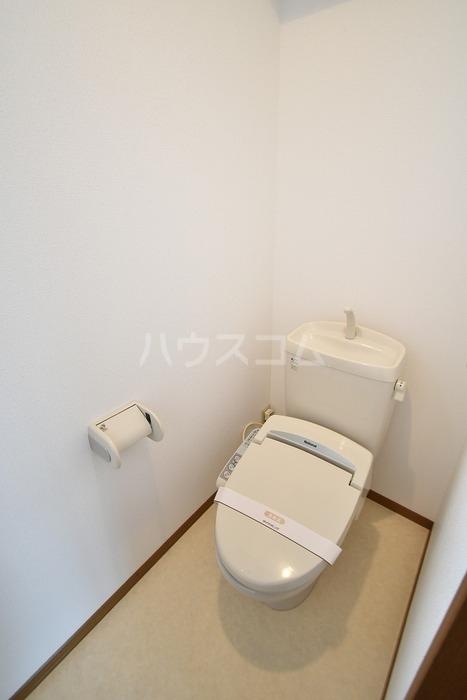 四天ハイツ M棟のトイレ