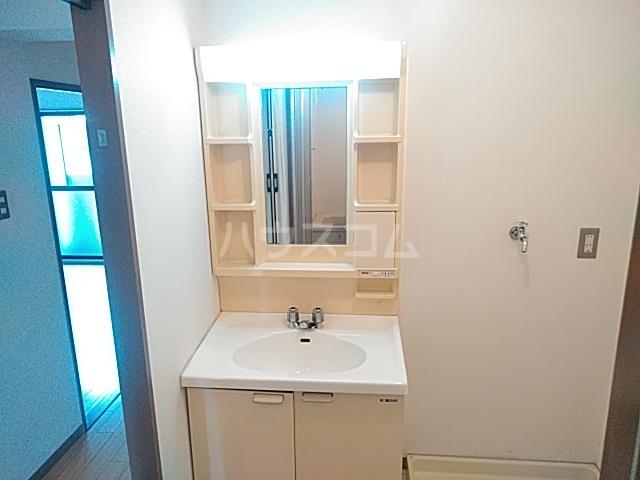 レジデンス丸太町 403号室の洗面所