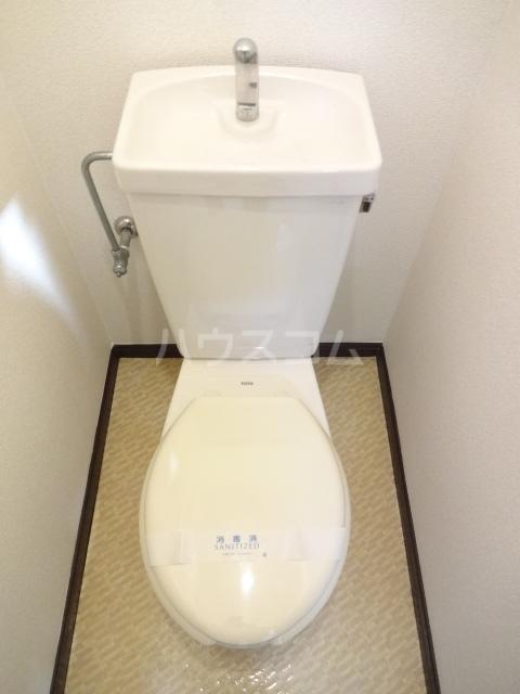 オネスティ北習二番館 104号室のトイレ
