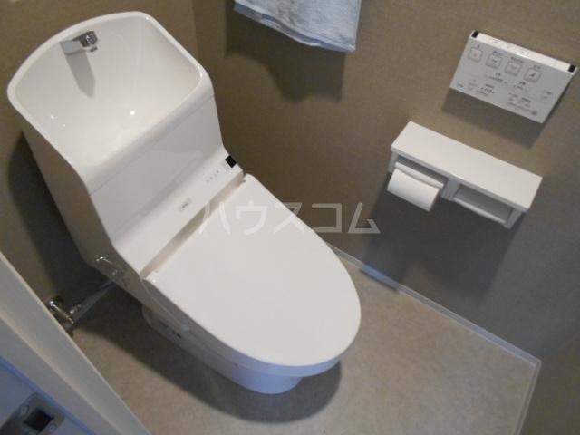 リコット南安城駅前 403号室のトイレ
