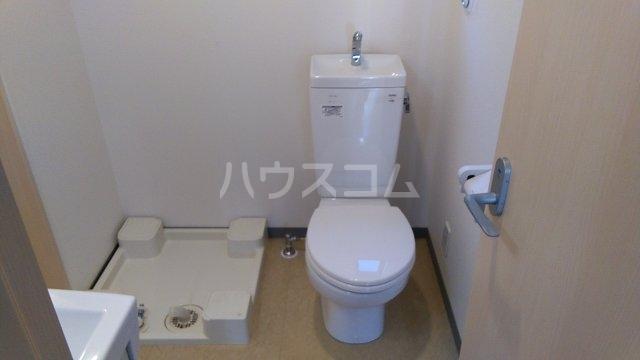 マックス ベルジェ 204号室のトイレ
