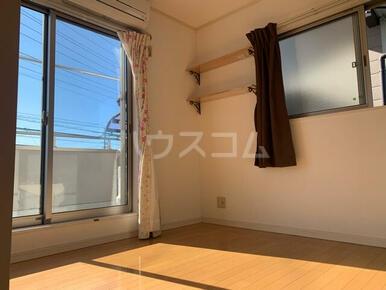 下小田貸家のベッドルーム