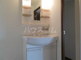 アルデール枡形 202号室の洗面所