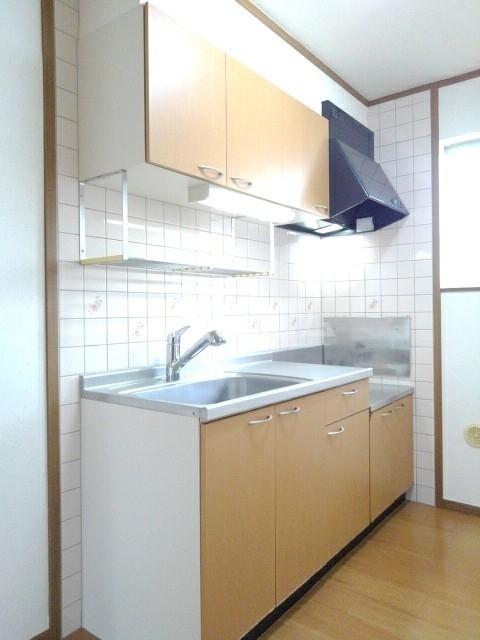 シャン・ド・ポワール 02010号室のキッチン