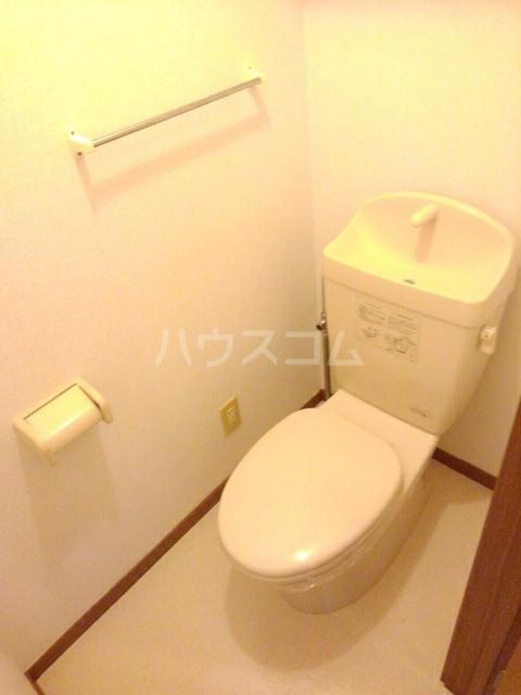 シャン・ド・ポワール 02010号室のトイレ