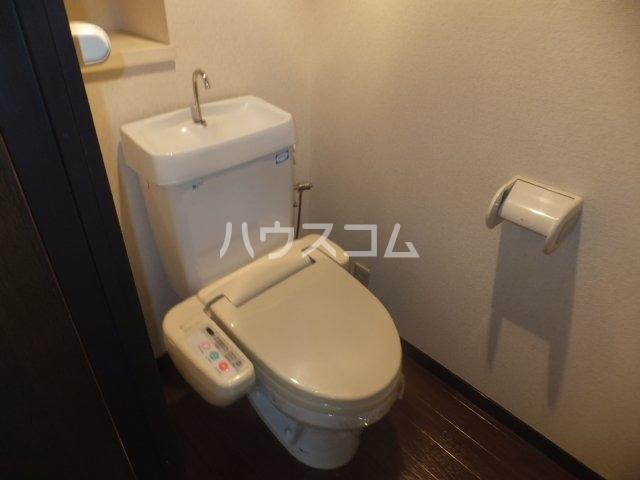 エスポア日吉 901号室のトイレ