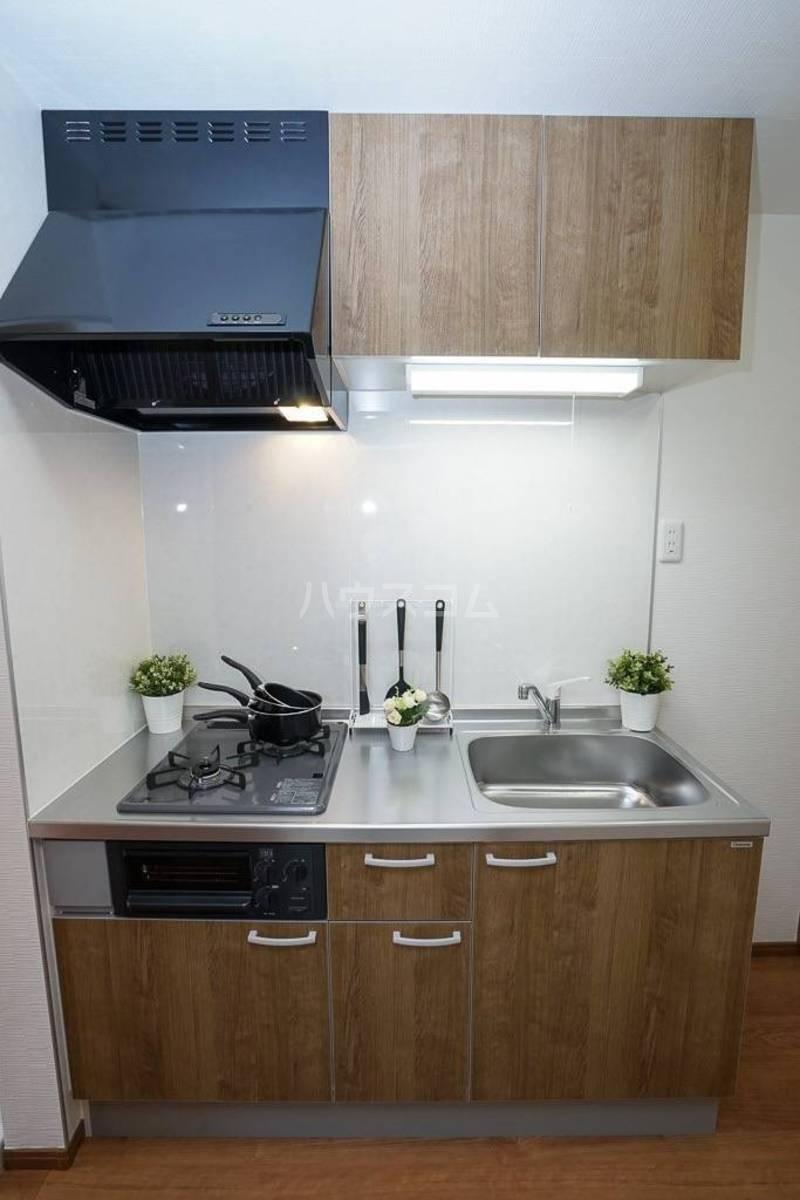 フォレール 104号室のキッチン