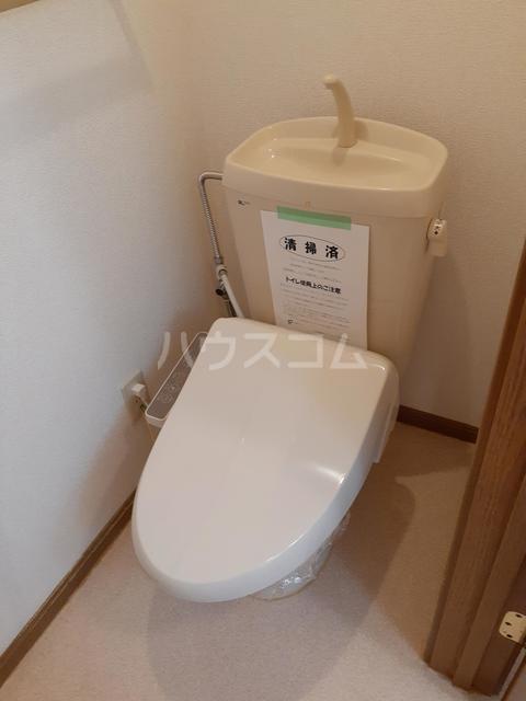 スプリングキャッスル B 02020号室のトイレ