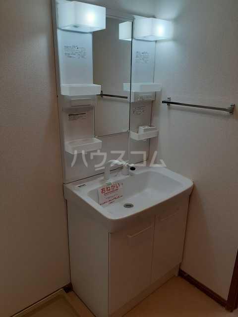 スプリングキャッスル B 02020号室の洗面所