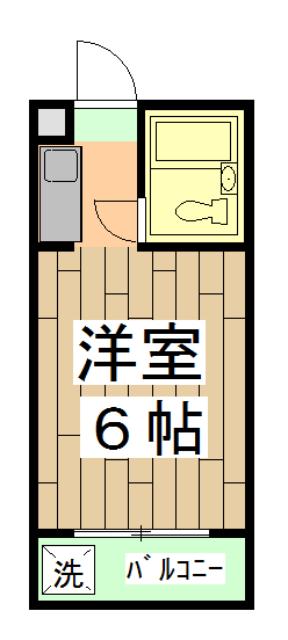 第12長栄セントラルシティーハイツ・412号室の間取り