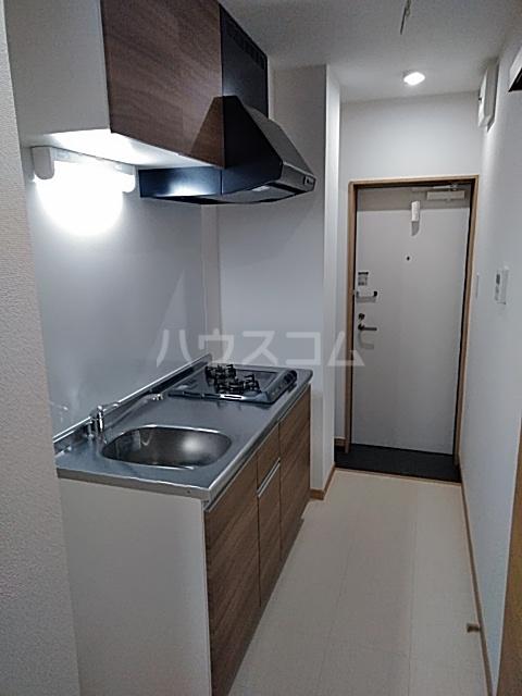 シャンテ船橋宮本B棟 101号室のキッチン