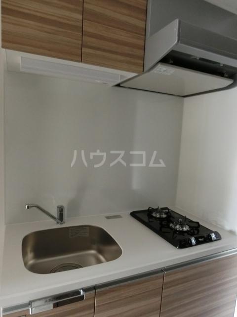 メイクス矢場町 707号室のキッチン