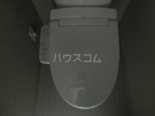 メイクス矢場町 1004号室のトイレ