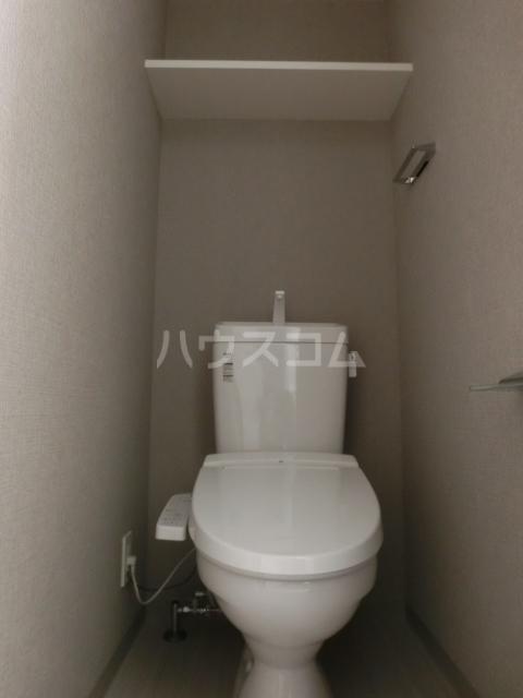 メイクス矢場町 1006号室のトイレ