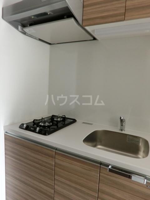 メイクス矢場町 1203号室のキッチン