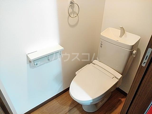 クレストール綾瀬 202号室のトイレ