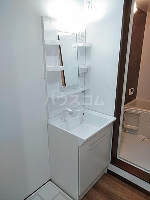 クレストール綾瀬 202号室の洗面所