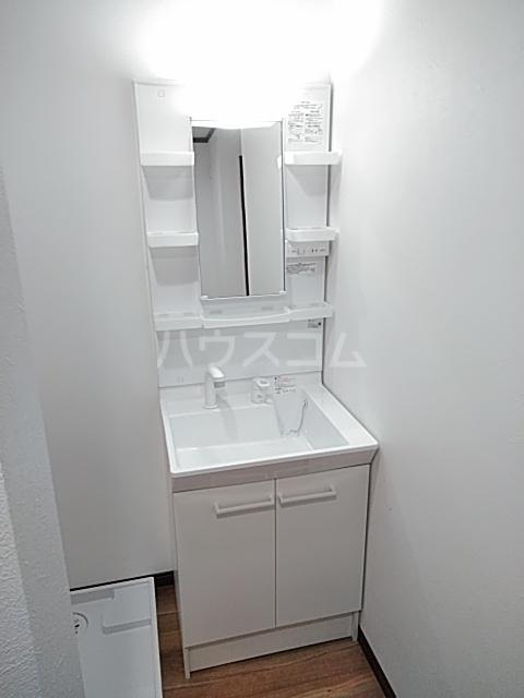 クレストール綾瀬 303号室の洗面所