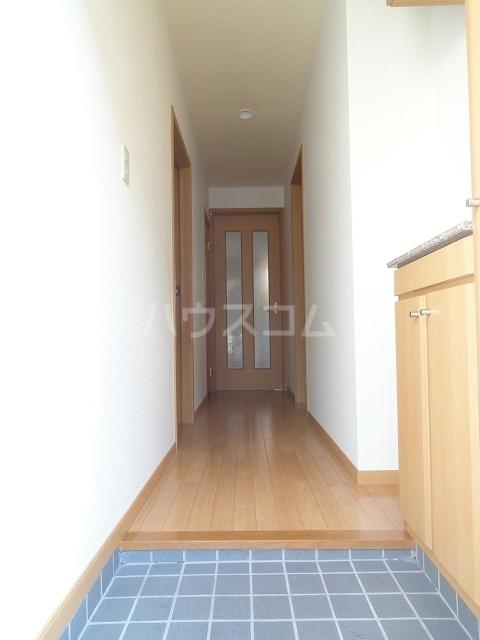 ドゥー ベルジュB 01020号室の玄関