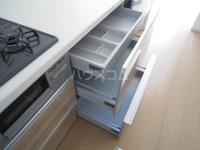共栄町戸建賃貸のキッチン